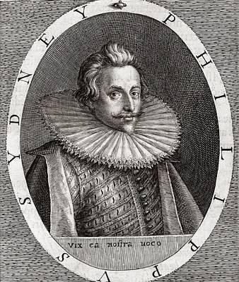 Sir Philip Sydney, English Poet Art Print