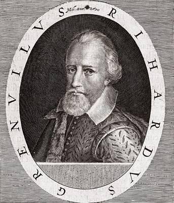 Sir Richard Grenville, English Explorer Art Print