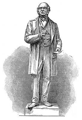 Sir Rowland Hill (1795-1879) Art Print by Granger