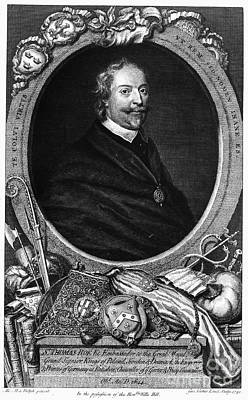 Sir Thomas Roe (c1581-1644) Print by Granger