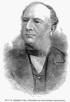 Sir William Siemens Art Print