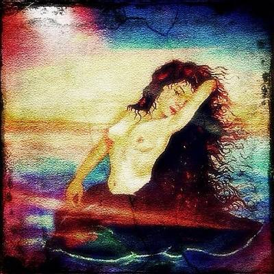 Nude Wall Art - Photograph - Siren by Lisa Catherwood