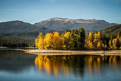 Art Print featuring the photograph Siskiyou Lake by Randy Wood