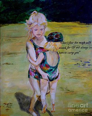Painting - Sisters by Amanda Dinan