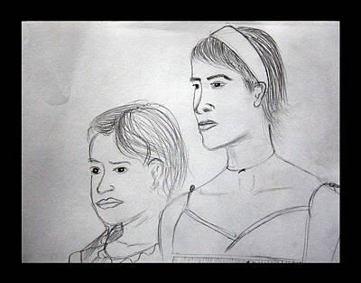 Sisters Art Print by Suneel Jain
