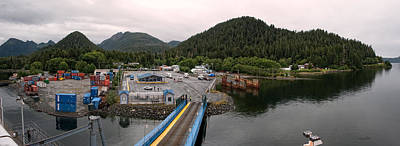 Photograph - Sitka Alaska - Panorama by Gary Rose