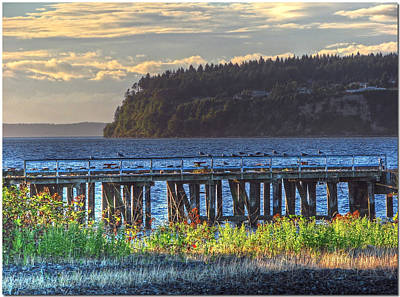Photograph - Sittin On The Dock At The Bay by Chris Anderson