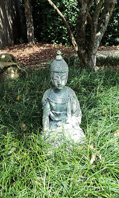 Photograph - Sitting Buddha by Megan Dirsa-DuBois