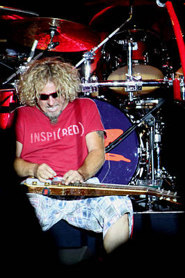 Van Halen Photograph - Sitting Sitar by Dennis Jones