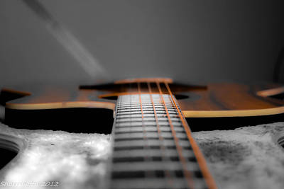 Photograph - Six String by Shannon Harrington
