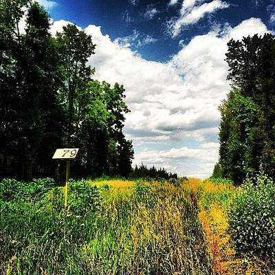 Trail Photograph - #sixmile #sixmilerun #marker #trails by Tyler Mcnee