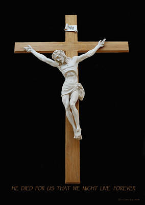 Sjncc Crucifix 1 Two K Eleven Art Print by Carl Deaville