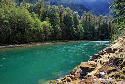 Photograph - Skagit River North Cascades National Park by Pierre Leclerc Photography