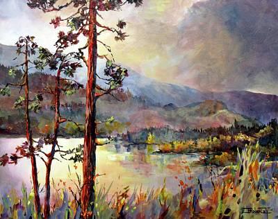 Skaha Pines Art Print