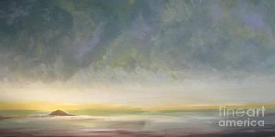 Skaket - Waiting On The Storm Art Print by Jacqui Hawk