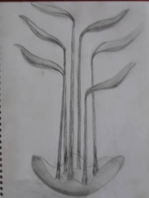 Sculpture - Sketch by Todd Malenke