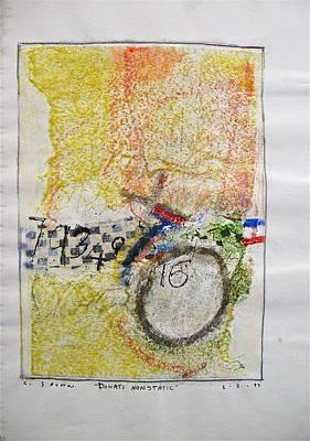 Drawing - Sketchbook 1  Pg 38 by Cliff Spohn