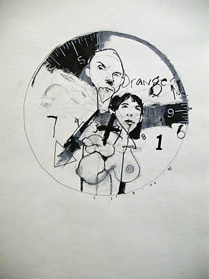 Drawing - Sketchbook 1  Pg 7 by Cliff Spohn