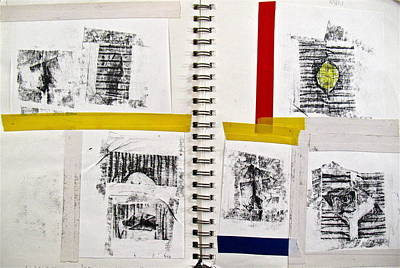 Photograph - Sketchbook 2  Pg 4 by Cliff Spohn