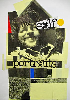 Self-portrait Mixed Media - Sketchbook 2  Pg 47 by Cliff Spohn