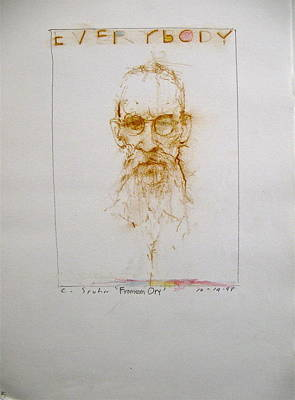 Drawing - Sketchbook 2  Pg 5 by Cliff Spohn