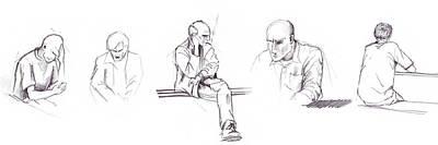 Drawing - Sketchbook by Mariusz Zawadzki