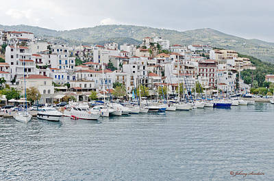 Photograph - Skiathos Village by Johnny Sandaire
