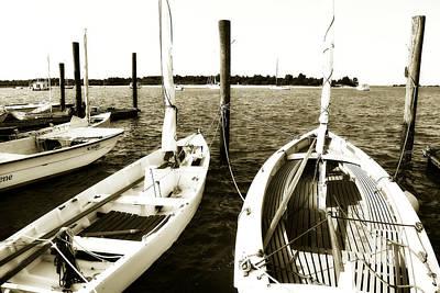 Sailboat Photograph - Skiffs - 2 by Alan Hausenflock