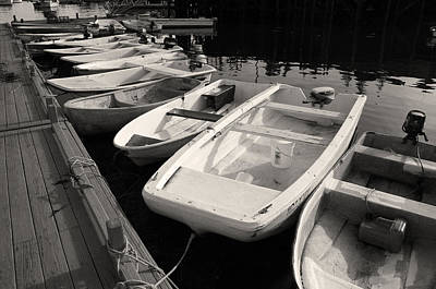 Lobstermen Photograph - Skiffs And Dinghies by David Rucker