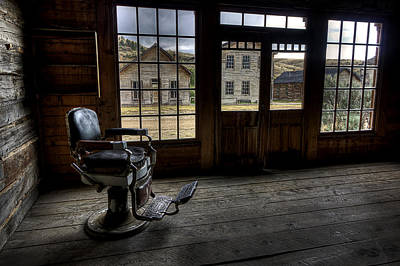 Bannack Ghost Town Photograph - Skinner's Saloon - Bannack Ghost Town by Daniel Hagerman