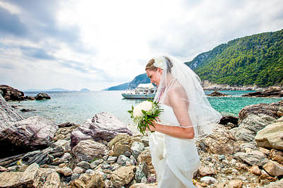 Skopelos Mamma Mia Wedding Print by Nick Karvounis