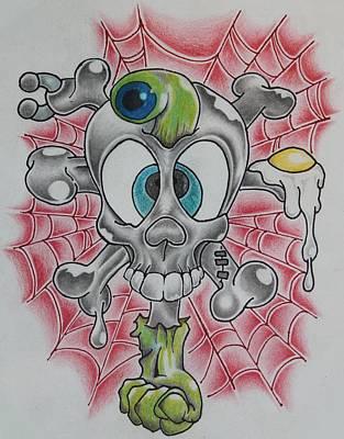 Skull And Crossbones Caught Up Original