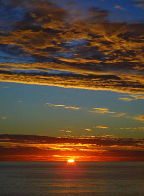 San Clemente State Beach Photograph - Sky Angels by Linda Larson