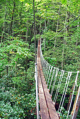 Photograph - Sky Bridge 2 by Aimee L Maher ALM GALLERY