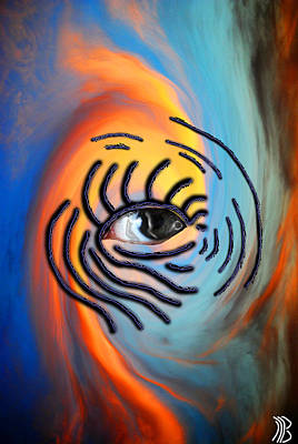 Sky Eyes Art Print