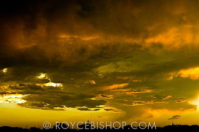 Photograph - Sky Fire by Royce Bishop