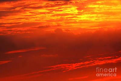 Photograph - Sky Fire by Susan Stevenson