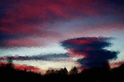 Sky Art Print by Kevin Bone
