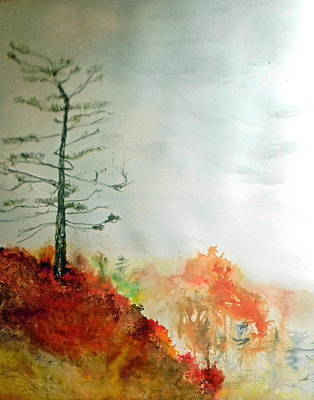 Painting - Sky Masters  by Anne-D Mejaki - Art About You productions