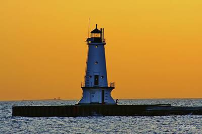 Burland Photograph - Sky Of Gold by Burland McCormick