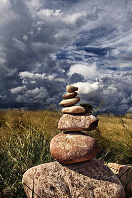 Sky Of Stone Art Print by Gabriel Calahorra