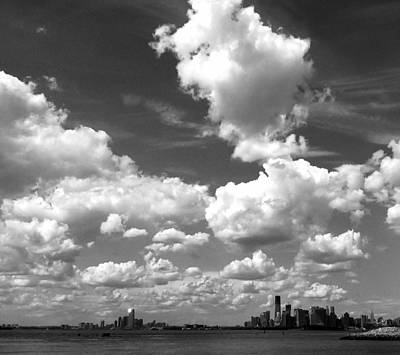 Photograph - Sky Over Sunset Park Brooklyn by Frank Winters