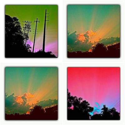 Photograph - Sky Pop Art by Stacy Sikes