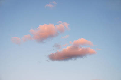 Photograph - Sky Series - A Little Pink by Kathleen Grace