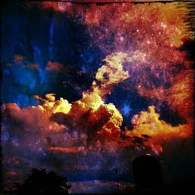 Skylines Wall Art - Photograph - Sky Series #sky #sky_series by Luke R