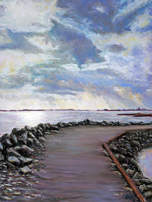 Pastel - Sky Shore A by Peter Jackson