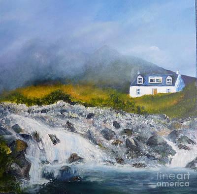 Scotland Painting - Skye Mist by Margaret Denholm