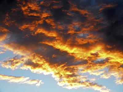 Photograph - Skyfire by Frank Wilson