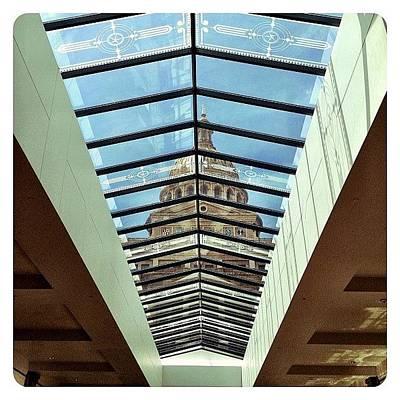 Angle Photograph - Skylight View by Natasha Marco