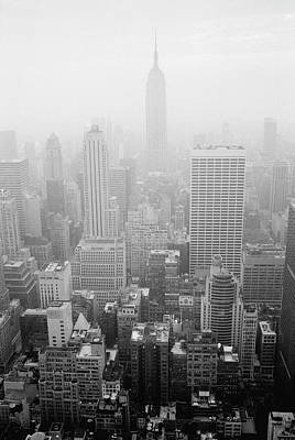 Built Structure Photograph - Skyline Of Lower Manhattan, New York City, New York, Usa by Aaron Johnston